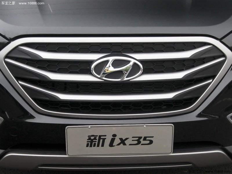 北京现代ix3513款 自动两驱智能型GLS