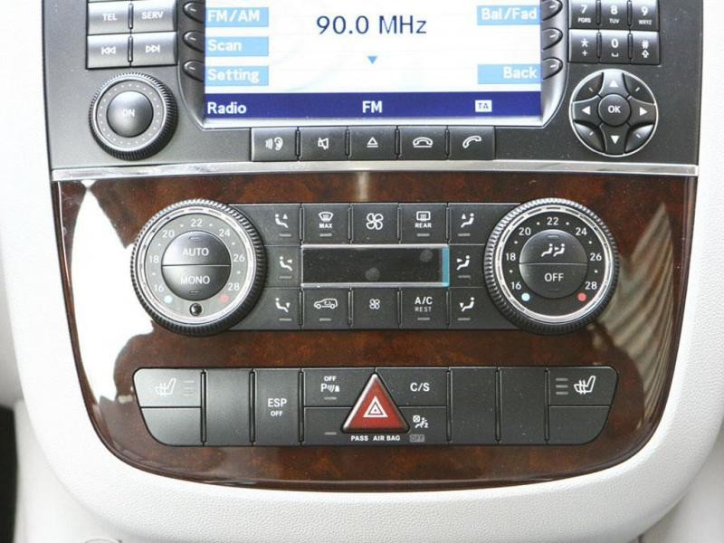 奔驰r级奔驰r级中控台空调面板