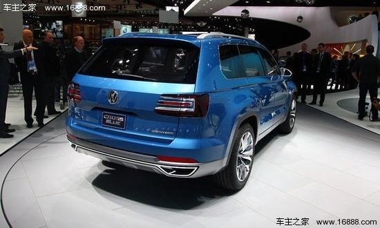 大众CrossBlue-一周重点新车 斯柯达8万元新紧凑车上海首发高清图片