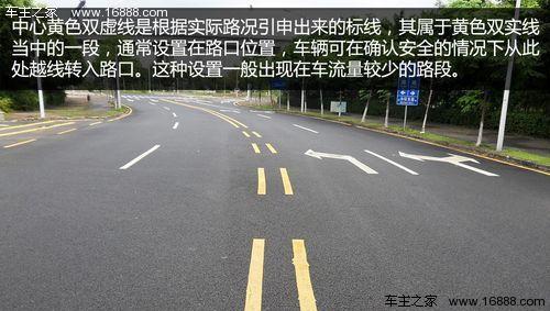 双黄实线禁跨越 教你常见交通标线知识