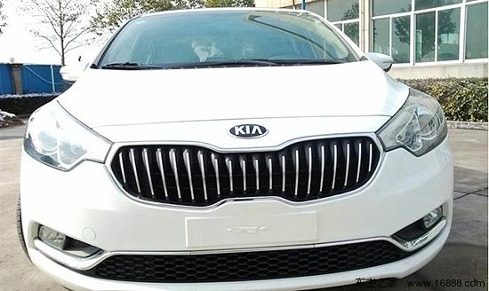 2012款白色起亚K3 1.6GLS AT使用报告高清图片