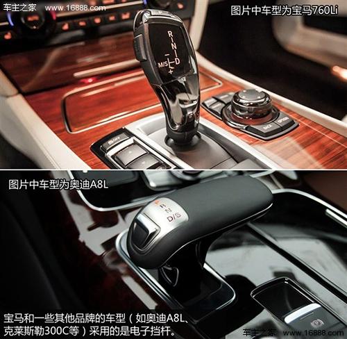 自动挡车型的档位介绍以及基本注意事项高清图片