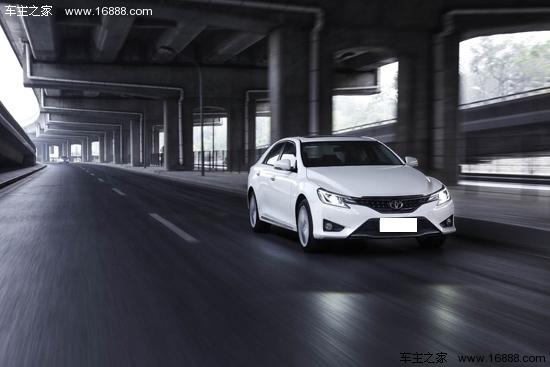 造型更加活力 试驾一汽丰田锐志2013款