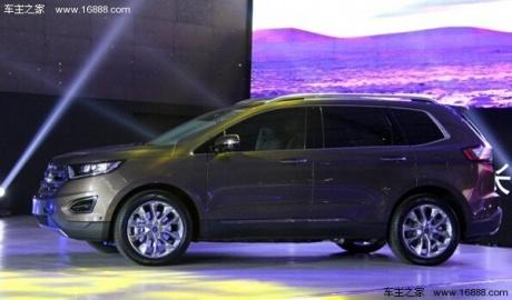 14广州车展 福特全新国产锐界正式发布高清图片