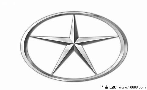 江淮汽车发布全新logo 新标不再像奔驰三叉戟
