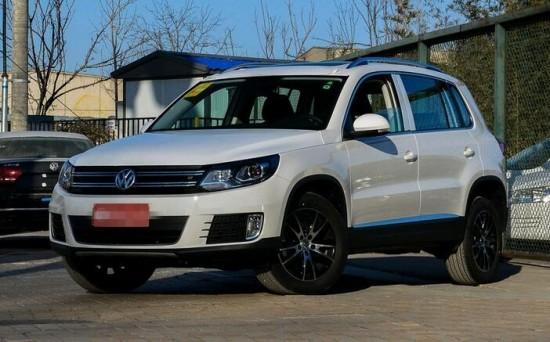 德系SUV合资行情 大众途观最低价格13万入手高清图片