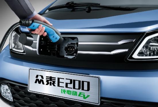新能源纯电动汽车众泰E200用品质为自己代言高清图片