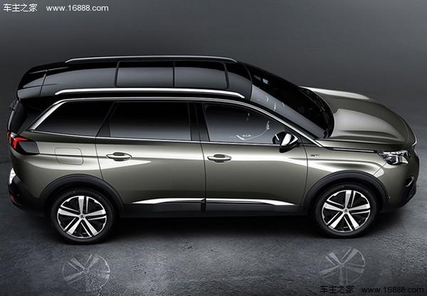 东风标致5008四月首发 成旗下首款七座SUV高清图片