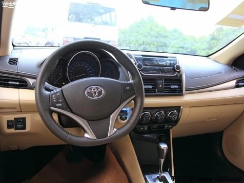 湛江2017款丰田威驰最新优惠 购车直降8000元高清图片