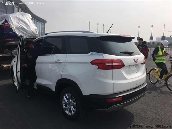 五菱首款SUV或叫宏光S3 悬浮式车顶或7座布局高清图片